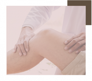 Craniosacral therapy on the knee